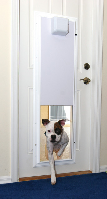 Electronic Pet Door With One-Touch Programming pet-supplies