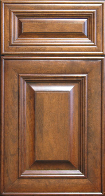 victorian style cherry raised panel cabinet door and