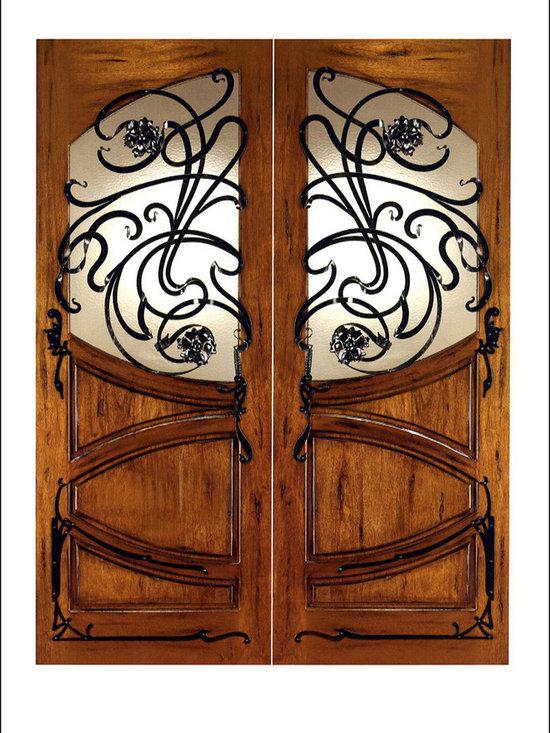 Art Nouveau Entry Doors Model # AN-2002 -