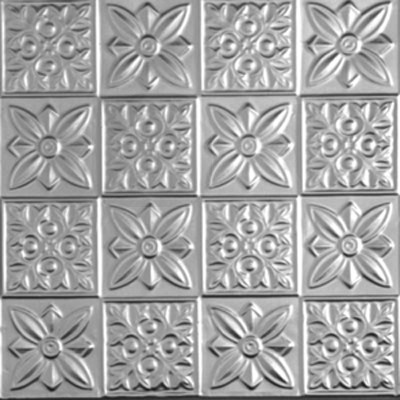 0612 Tin Ceiling Tile - Classic - FLOWER POWER  wallpaper