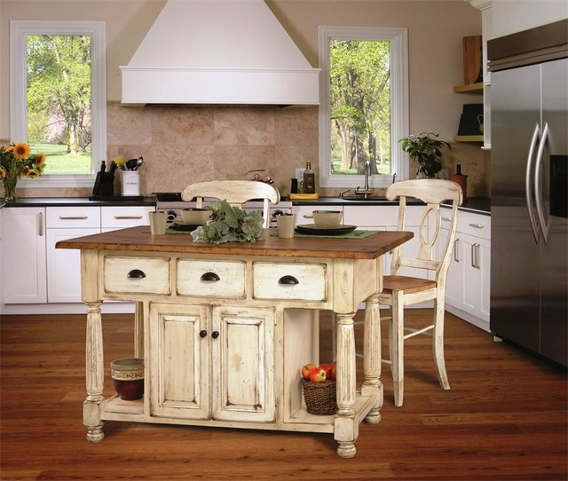 Farm Style Kitchen Island Part - 20: Unique Kitchen Islands Designs Farmhouse Style Source · 28 Farmhouse  Kitchen Island Hand Crafted Reclaimed Wood