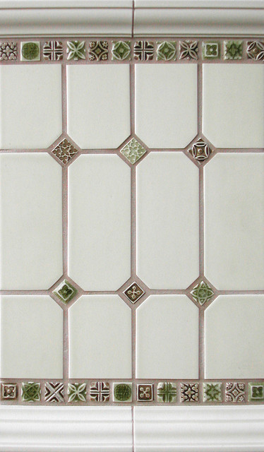 1x1 Deco Inserts traditional-tile