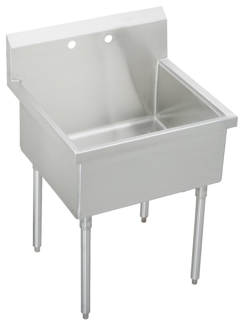 Elkay Pursuit Utility Free Standing Sink Laundry Basin - Contemporary ...
