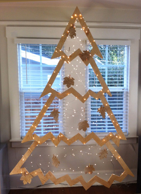 DIY Plywood Christmas Tree