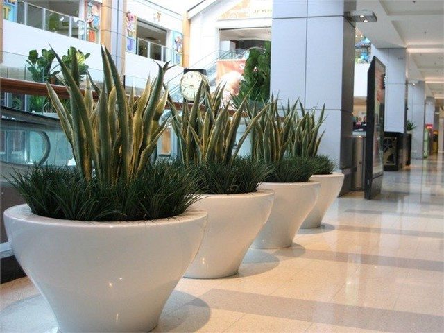 Ming Planters Xl Outdoor Pot By Serralunga Modern For Garden Planters.