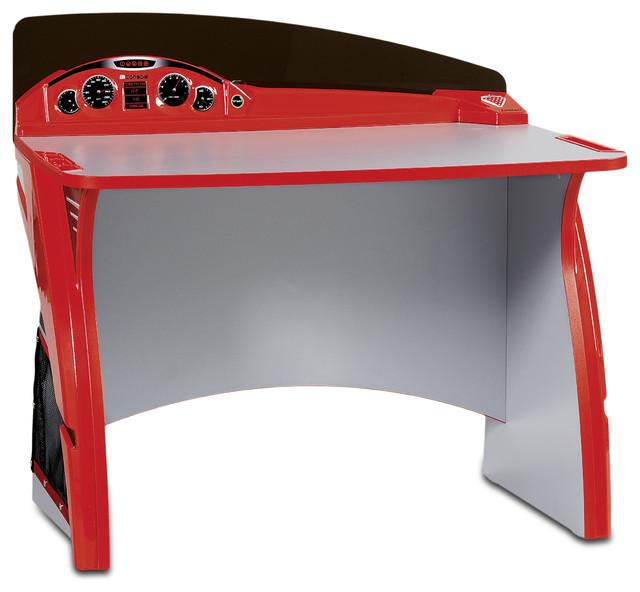 Turbo Study Desk Modern Kids Desks And Desk Sets By