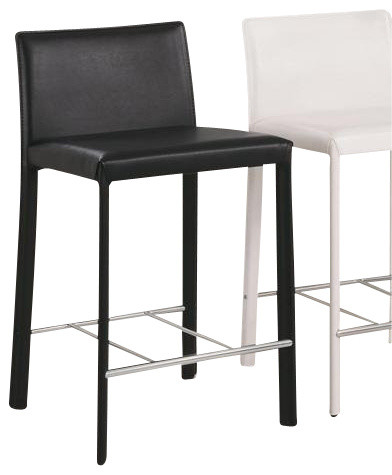 Countertop Height For Bar Stools : Height Stool (Black) By Coaster (Set of 2) - Contemporary - Bar Stools ...