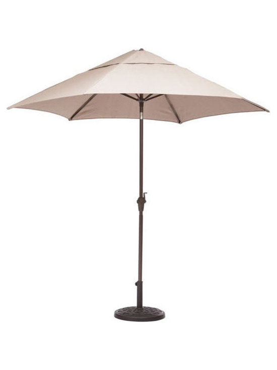 Zuo Modern - Zuo South Bay Umbrella Beige - South Bay Umbrella Beige by Zuo Modern Enjoy a refreshing cocktail in the shade with the South Bay Table Set. The umbrella is UV and water resistant fabric. Umbrella (1)