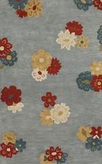 Rugsville Floral Grey FLR-TFT Rug