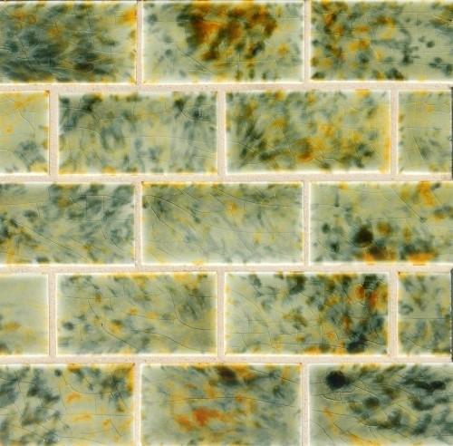 Victorian glaze bricks eclectic-tile