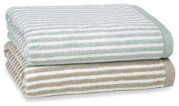 Kassatex Linea Bath Towel contemporary-bath-towels