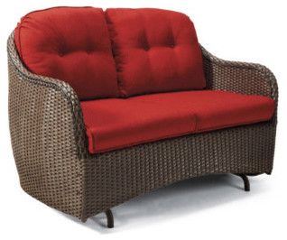 4 pc Sophia Outdoor Loveseat Outdoor Glider Cushions