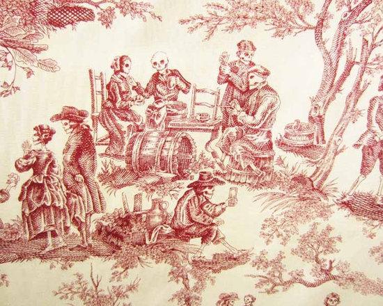 Alexander Henry Midnight Pastoral fabric -