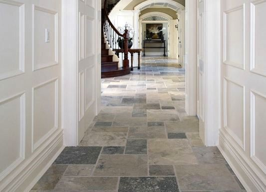 Natural Stone Flooring eclectic floor tiles