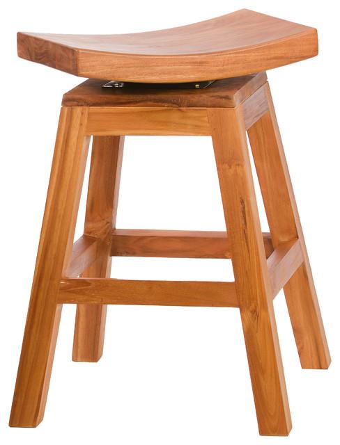Teak Vanity Seat Decorticosis