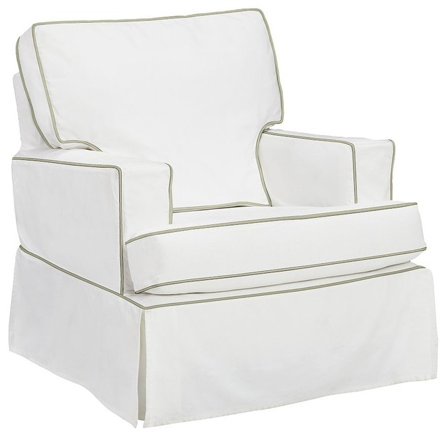 Comfort Small Square Arm Glider contemporary-rocking-chairs-and-gliders