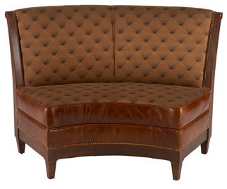 Key City Furniture Carolina Banquette traditional-dining-benches
