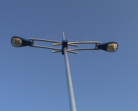 Lighting Poles And Decorative Arms - Decorative Arm Bracket for Lighting Poles