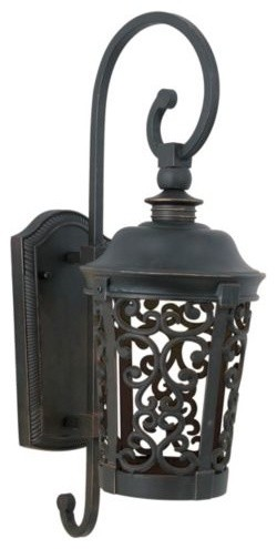 Whisper Outdoor Wall Sconce - Fluorescent traditional-outdoor-lighting
