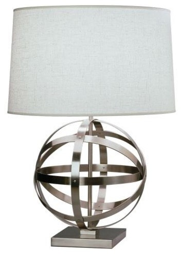 Robert Abbey Lucy Table Lamp in Dark Antique Nickel traditional table lamps
