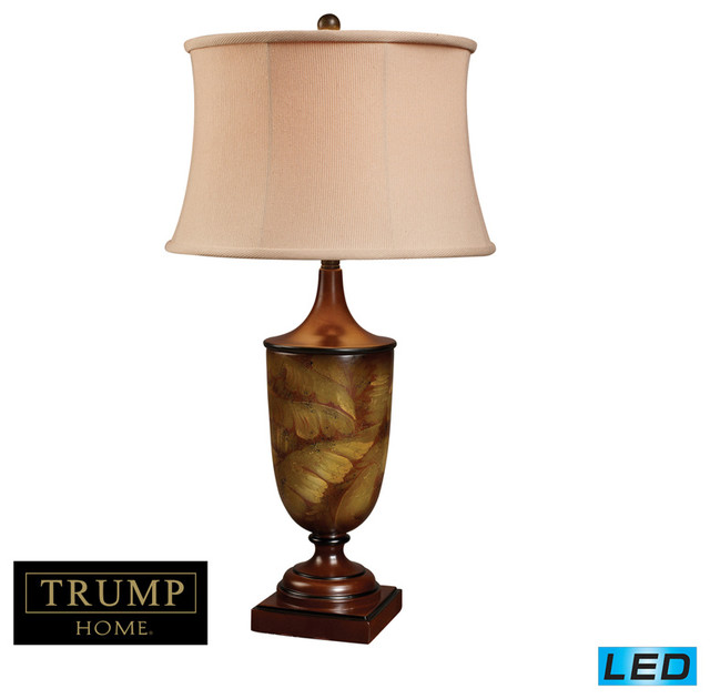 Bryant Park 1 Light LED Table Lamp In Tobacco Leaf