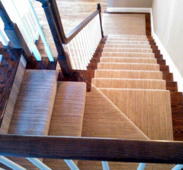 Stair Runner Installations  staircase