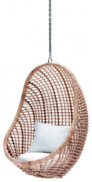 Kai Pod Chair, Natural eclectic-living-room-chairs
