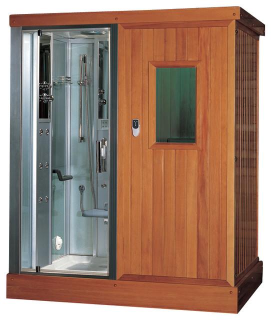 ariel platinum ds204f3 steam shower and infrared sauna. Black Bedroom Furniture Sets. Home Design Ideas