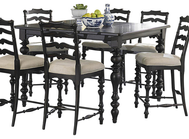 Homelegance jackson park 9 piece counter height dining for 9 piece dining room set counter height