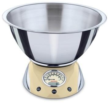 Retro digital kitchen scale by leifheit traditional for Traditional kitchen scales