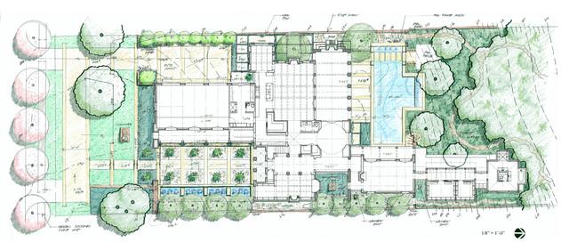 Delighful Contemporary Landscape Architecture Plan Tehran Iran D