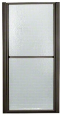 """STERLING Finesse(TM) Hinge Shower Door - Height 65-1/2"""", Max. Opening 39-1/2"""" contemporary-showerheads-and-body-sprays"""
