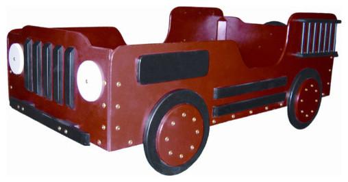 Fire Truck Wood Toddler Bed modern-kids-beds