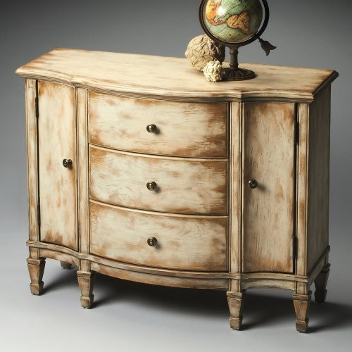 Butler Console Cabinet - Chateau Gray - Traditional - Storage Cabinets ...