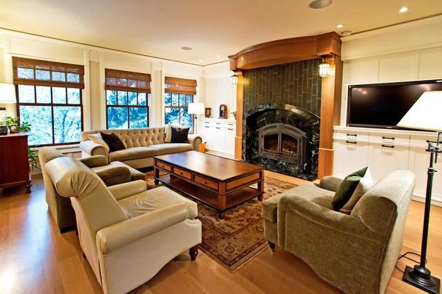 Britannia 4 Craftsman Living Room Calgary By