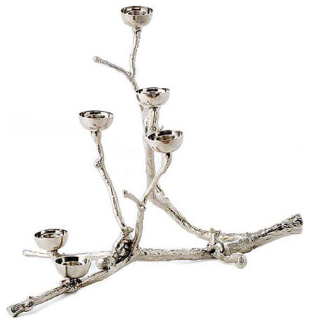 Twiggy With Squirrels eclectic-candleholders