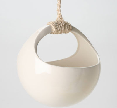 Perch! design plant orb modern outdoor planters