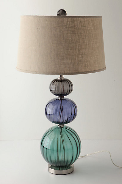 Cooled Globes Base eclectic table lamps
