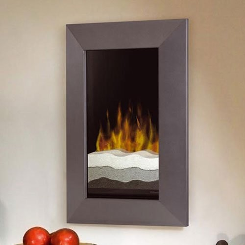 Dimplex Beveled Wall Mount Electric Fireplace With Tri