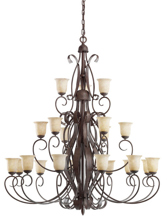 Grandiose Chandeliers - High Country - Chandelier 21Lt