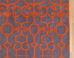 Nomad Sculpted Rug eclectic-rugs