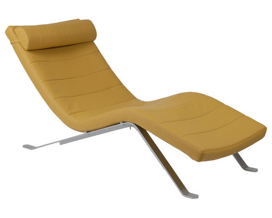 Eurostyle - Eurostyle Gilda Lounge Chair Seat in Saffron & Silver Base - Relax. You have a new friend. The Gilda Lounge will always be there to help you ease away the tension and rest your weary head. Upholstered over foam, Gilda invites you to stop and smell the roses. Or the toner as the case may be. What's included: Chair Top (1), Chair Base (1).