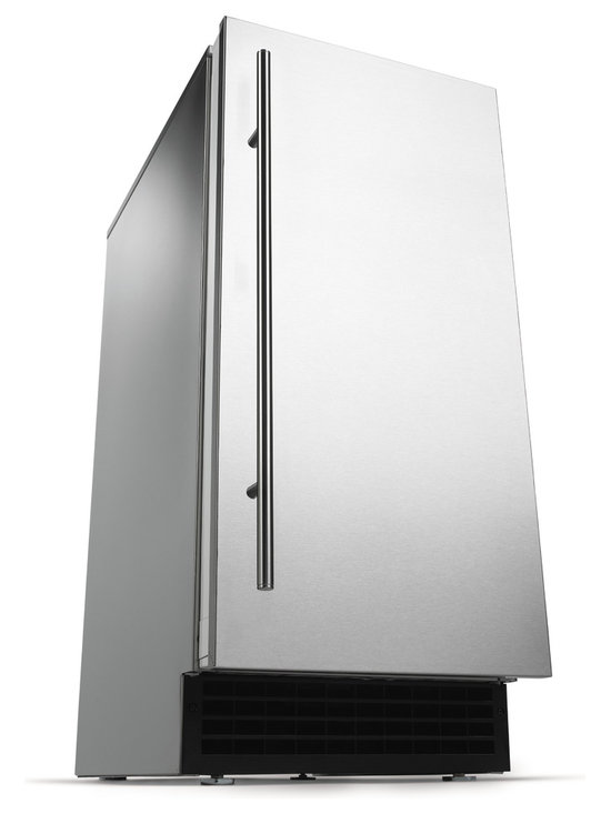 Scotsman Ice Machine: Brilliance Gourmet Cuber - Scotsman Ice Machine: Brilliance Gourmet Cuber makes clear, odorless, taste-free ice, and conveniently fits under the counter.