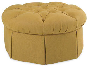 Garrity Round Ottoman by CR Laine traditional-footstools-and-ottomans