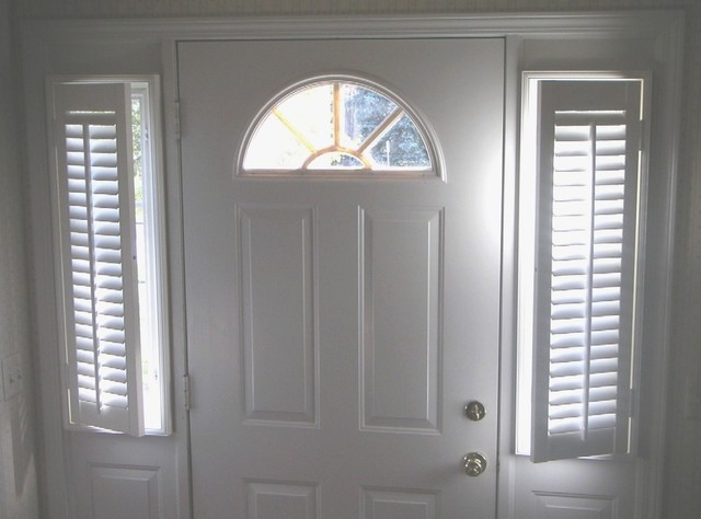 Foyer Window Shutters : Plantation shutters traditional st louis by the