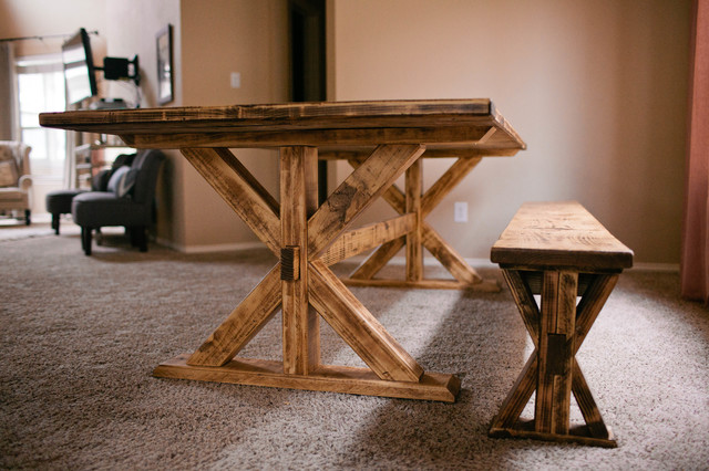 Trestle Table With Bench X  X.us 2017