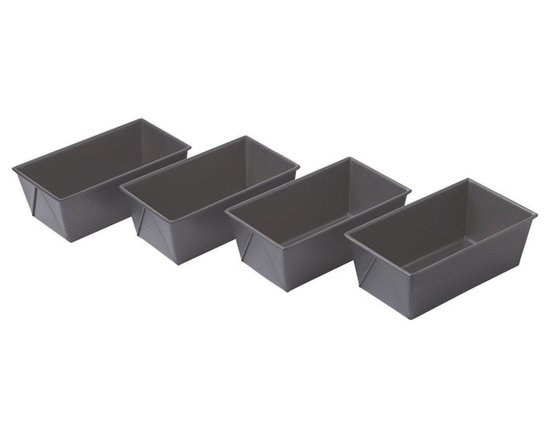 Chicago Metallic - Chicago Metallic Non-Stick Mini Loaf Pans Set of 4 - Everyone appreciates homemade bread. It's a great way to thank teachers, friends, hostesses or anyone who means something to you. Easy cleanup and no warping or boinging in your oven. Just fabulous results you can count on.