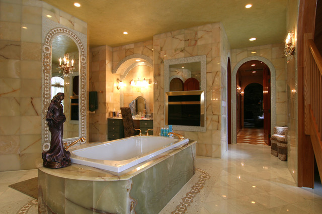 Glenn Johnson mediterranean bathroom