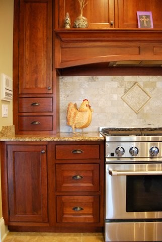 Amish Custom Kitchens - Inset Doors traditional kitchen