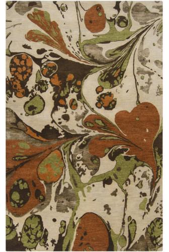 Banshee Dark Chocolate Rug modern-rugs